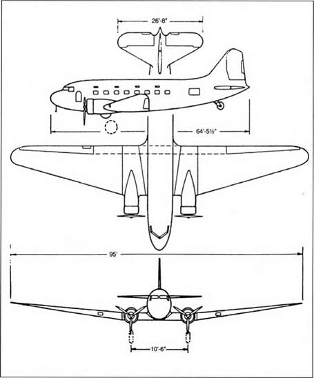 ERA OF THE MATURE PROPELLER-DRIVEN AIRPLANE