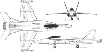 McDonnell Douglas/Northrop F-18 Hornet and Cobra