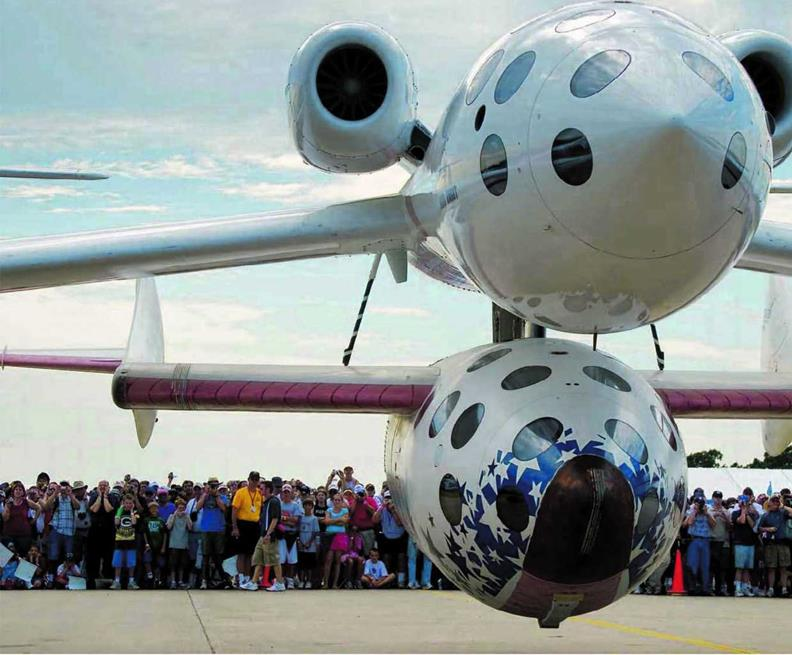 Two Last Flights for SpaceShipOne