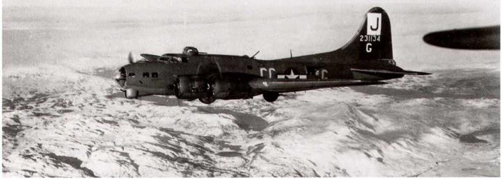 Camouflage Paint on USAAF Airplanes in the United Kingdom, January 2,1944