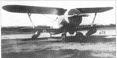 Polikarpov I 152 DM 2 and M53/DM-4