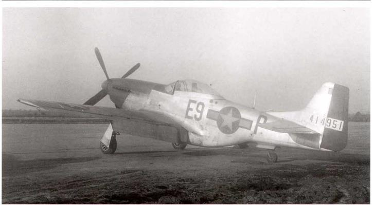 Camouflage deleted from P-47s allocated to the British and French Air Forces, November 1, 1944