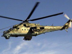 The Russian Federation to Tajikistan shock helicopters