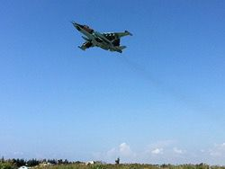 The Syrian TV reported about blows of aircraft of the Russian Federation near Palmira