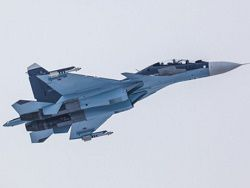 Su-30СМ patrol the sky of Syria with the outdate rocket weapon
