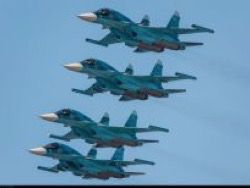 The Air Force of the Russian Federation received three new bombers Su-34