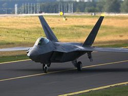 To Estonia two fighters F-22